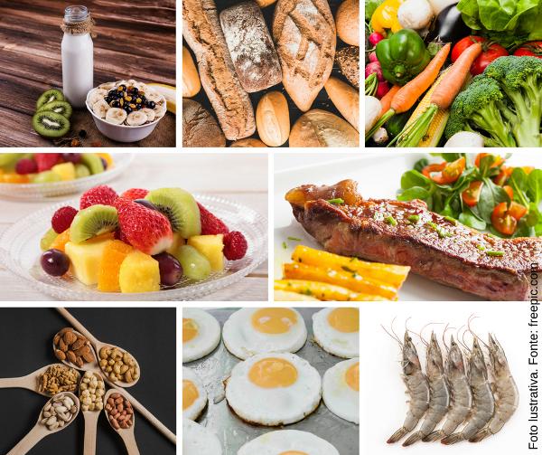 Tipos de Nutrientes Macronutrientes e Micronutrientes - Vitaminas e Minerais